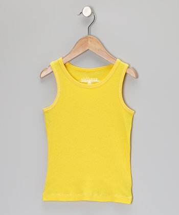 Yellow Tank - Toddler & Girls