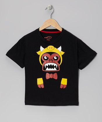 Black Monkey Tee - Boys