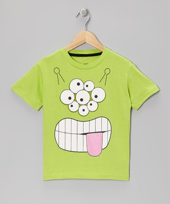 Green Alien Tee - Boys