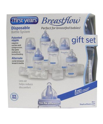 The First Years Breastflow Bottle System Starter Set