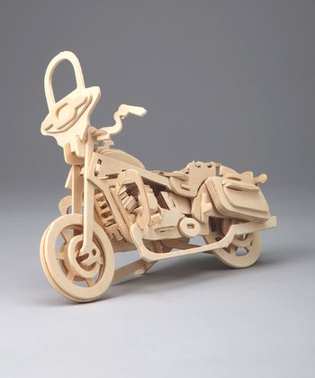 Harley Davidson Cruiser Woodcraft Model
