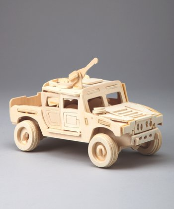 Humvee Woodcraft Model