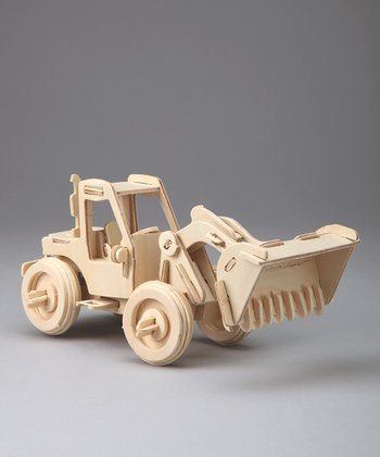 Bulldozer Woodcraft Model