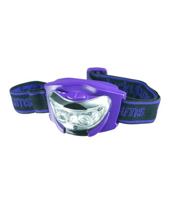 Purple Youth Head Lamp