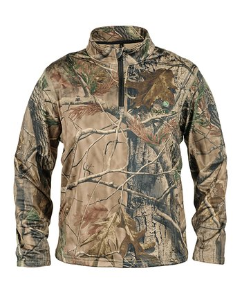 Brown Realtree Pullover - Kids