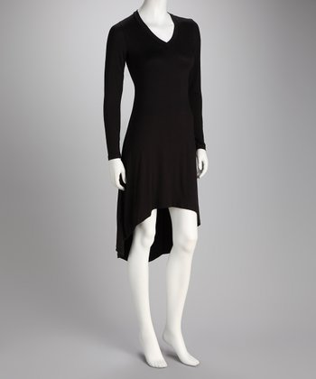 Black Hi-Low Dress - Women & Plus