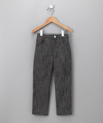 Gray Straight Leg Jeans - Toddler & Kids