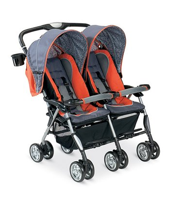 Sunset Scribble Twin Sport Stroller