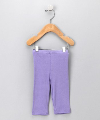 Lavender Organic Leggings - Infant