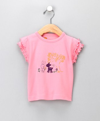 Pink Friendship Organic Tee - Infant & Toddler