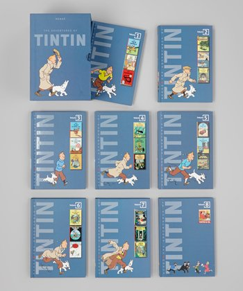 Adventures of Tintin Boxed Hardcover Set