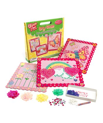 Girly Garden Sequin Art Kit