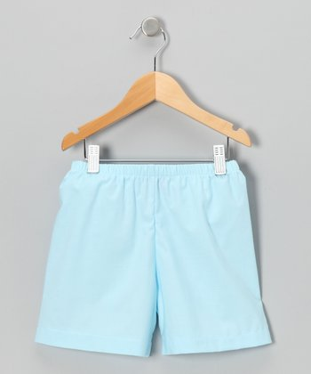 Light Blue Shorts - Infant, Toddler & Boys