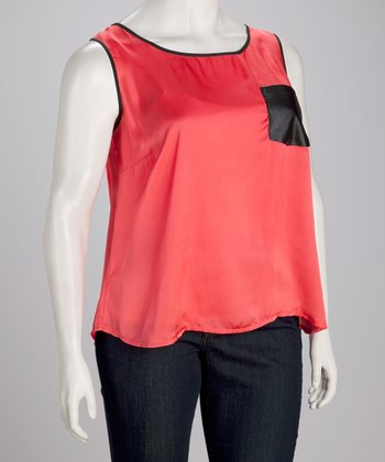 Cayenne Plus-Size Pocket Tank