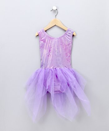 Purple Fairy Dress-Up Outfit - Toddler & Girls