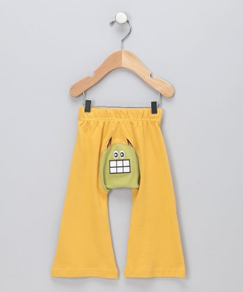 Yellow Ha-Ha Hero Organic Pants