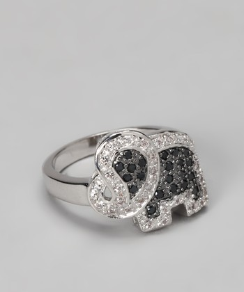 Black & White Elephant Ring