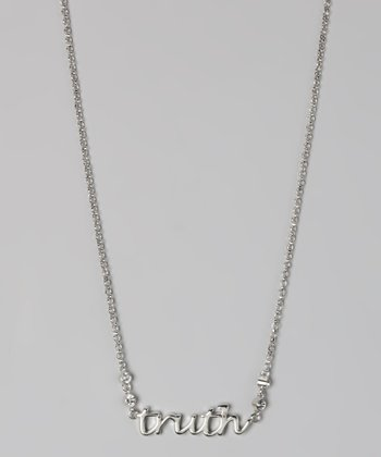 "Silver ""Truth"" Necklace"