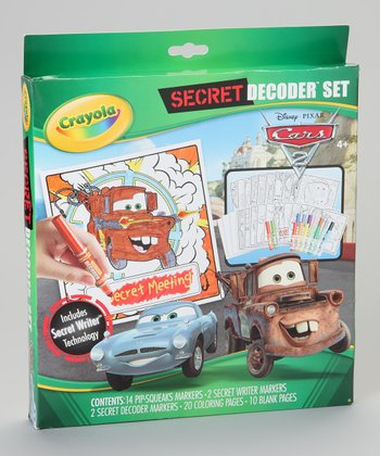 Cars 2 Secret Decoder Set