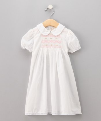 White Lawn Dress - Infant