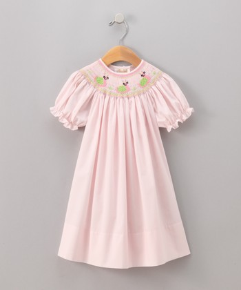 Pink Snail Bishop Dress - Infant & Toddler