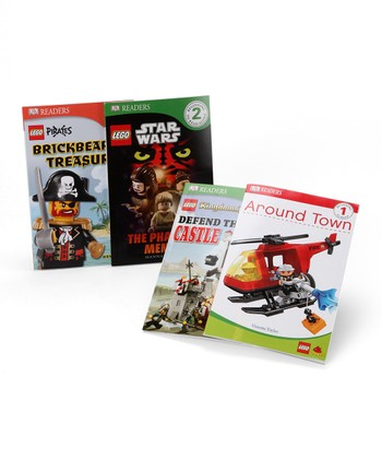 Level 1 & Level 2 LEGO Reader Paperback Set