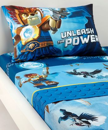 'Unleash the Power' LEGO Chima Twin Sheet Set