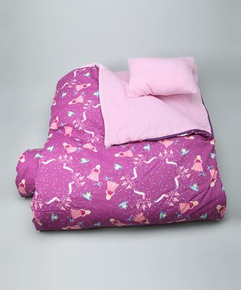 Magenta Princess Sleeping Bag