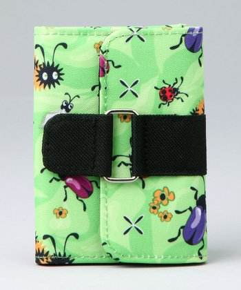 Green Insect Life Strap 'n' Snap Wallet