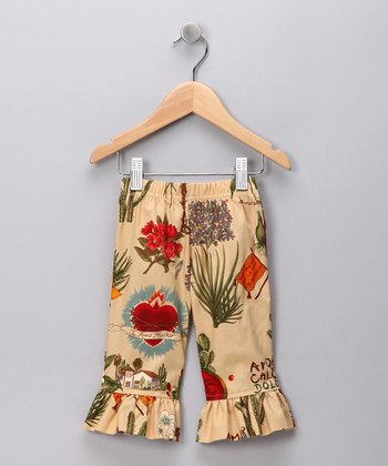 Parchment Frida Capri Pants - Girls