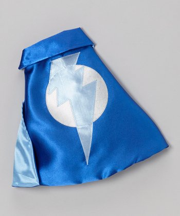 Blue & Light Blue Lightning Leader Sidekick Toy Cape