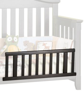 Distressed Matte Black Watterson Toddler Guard Rail