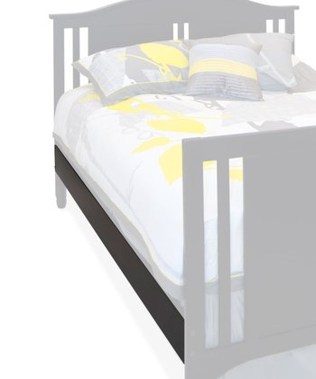 Distressed Matte Black Watterson Full Bed Rails