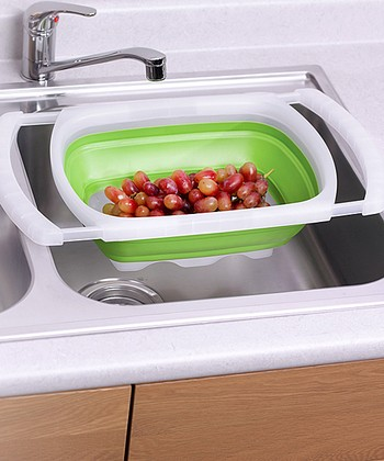 Over-the-Sink 6-Qt. Collapsible Colander