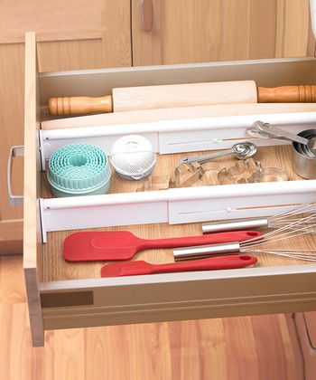 Adjustable Drawer Divider - Set of Two