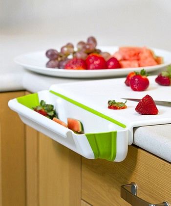 Collapsible Bin Cutting Board