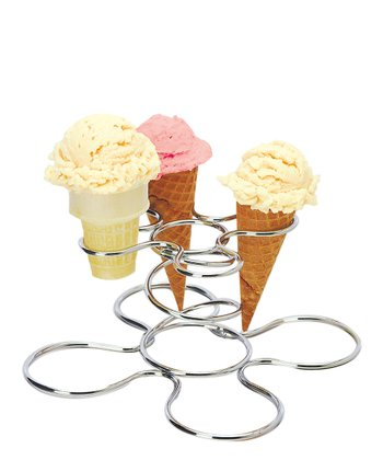 Wire Ice Cream Cone Caddy