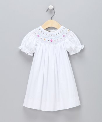 White Easter Bishop Dress