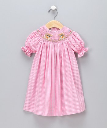 Pink Easter Bishop Dress - Infant & Toddler