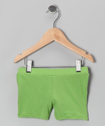 Green Lollipop Shorts - Infant, Toddler & Girls