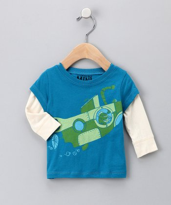 Sapphire Submarine Layered Tee - Infant