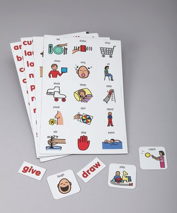 Verb Learning Magnets Set