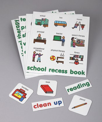 School Word Learning Magnets Set