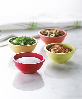 Colorful Pinch Bowl Set
