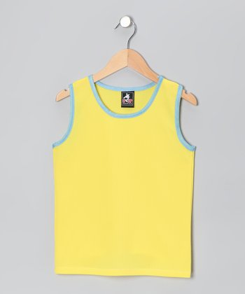 Yellow & Blue Tank - Boys