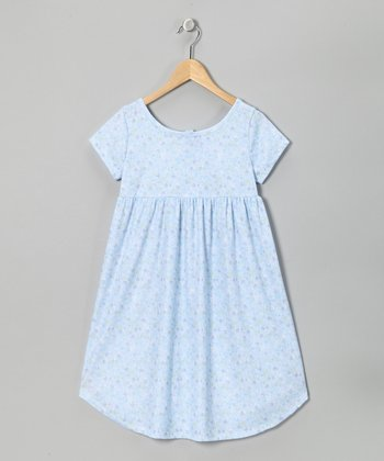 Blue Jenny Nightgown - Toddler & Girls