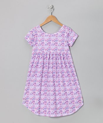 Purple Valerie Nightgown - Toddler