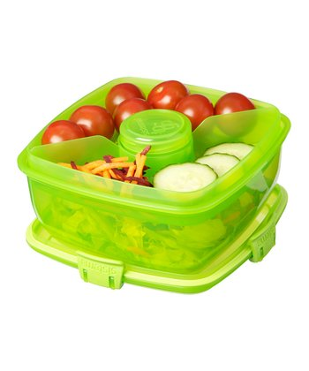 Green Salad-to-Go Container - Set of Two