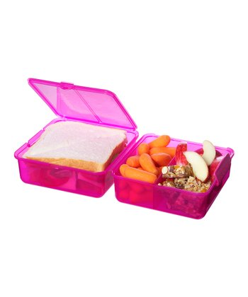 Pink Lunch Cube - Set of Two