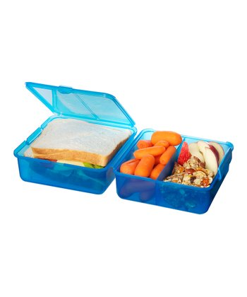 Turquoise Lunch Cube - Set of Two